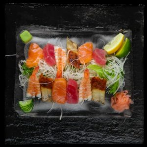 Sashimi, Soups and Salads