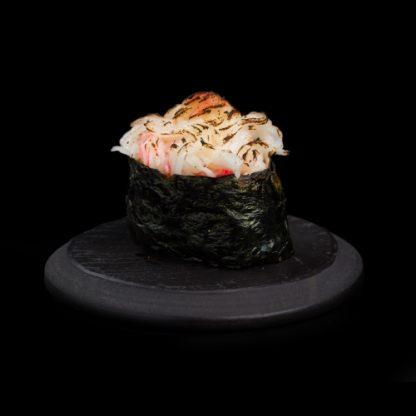 Küpsetatud Krabiliha Sushi