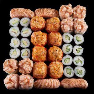 Assortii Kepakusi sushi