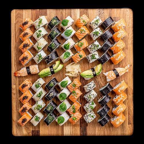 sushi assortii