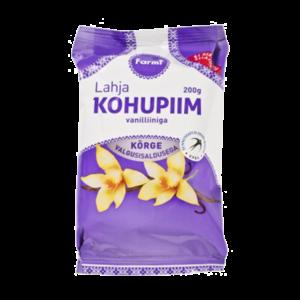 Lahja kohupiim vanilliiniga, FARMI, 200 g
